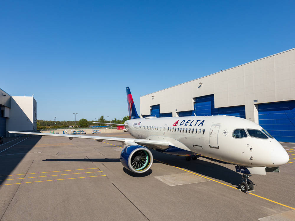 Meet Delta Air Lines' New State-Of-The-Art Airbus A220-100