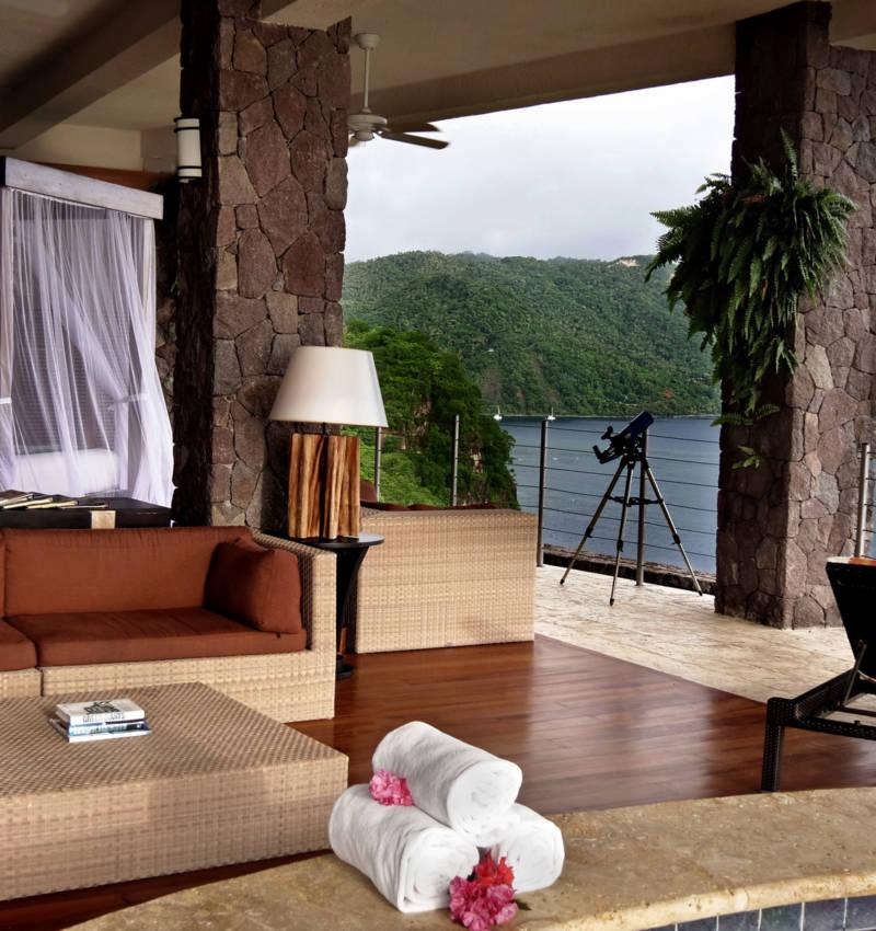 Jade Mountain Resort In St. Lucia