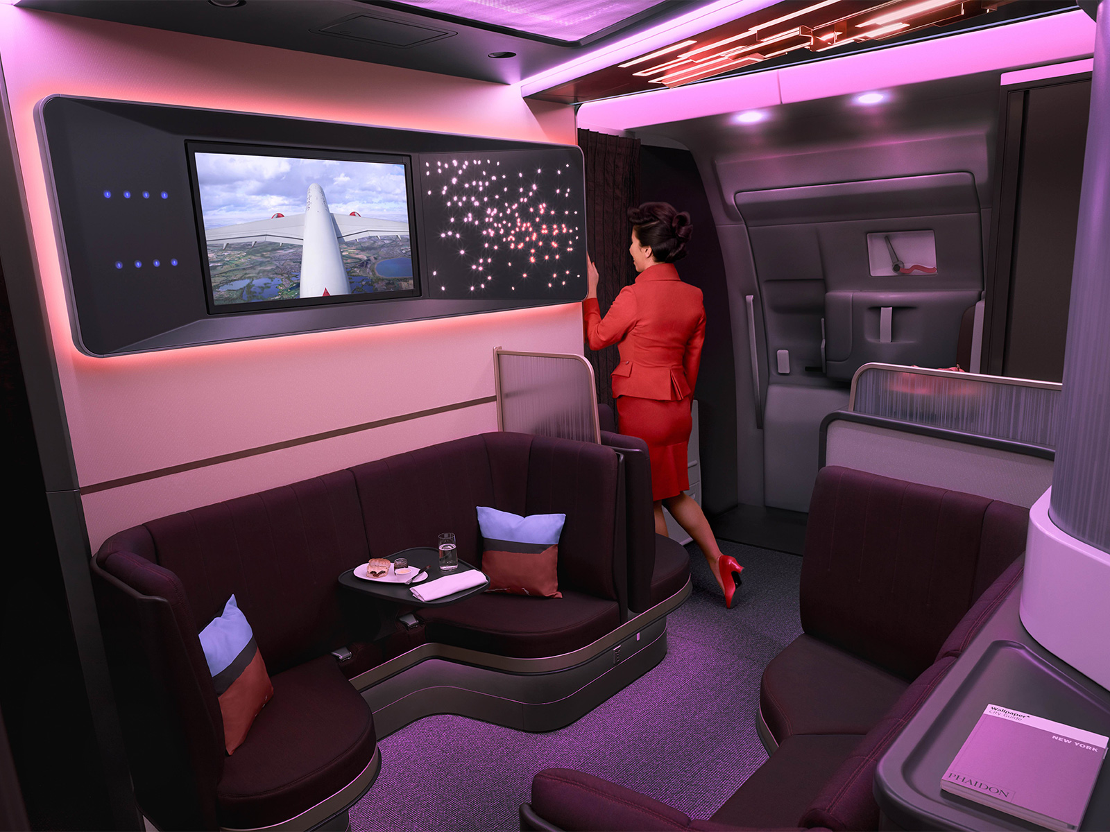 Virgin Atlantic A350 Flies Again