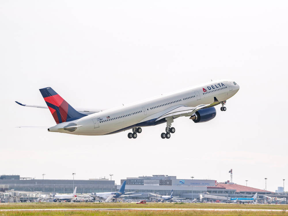 Delta's Newest Airbus A330-900neo